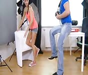 SEXY GIRL FUCKED BY AGENT AT CASTING AUDITION