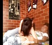 Asian teens couples first video