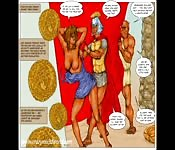 Intriguing Roman sex comic
