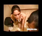 Tomasina and Danica share a dick