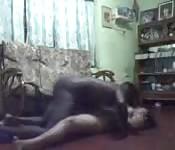 Sri Lanka babe fucked a black cock