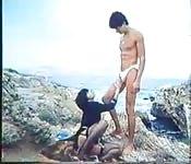 Vintage Greek sex on the beach