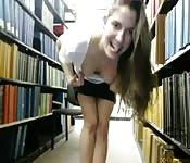 Library teen tease