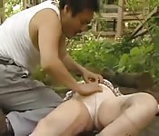 Chinese public pussy play