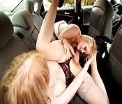 Lesbian on the road
