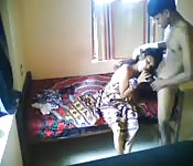Romance overwhelms Indian couple as they make love