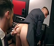 Gay office punishment