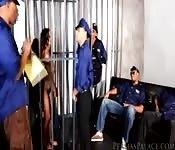 Babe got gang banged in prison after drug burst