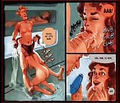 Comic filled with wild bisexual sex thrills