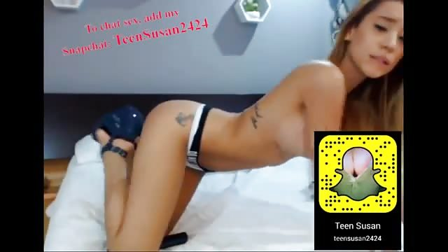 Sexy Teen Snapchat Orgasm