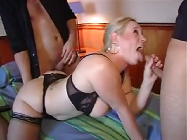 Hot mature blonde fuck with guy