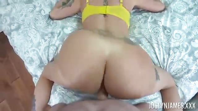 Joslyn James sucking and fucking in POV