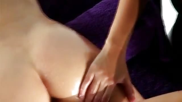 Massage video Oil orgasm