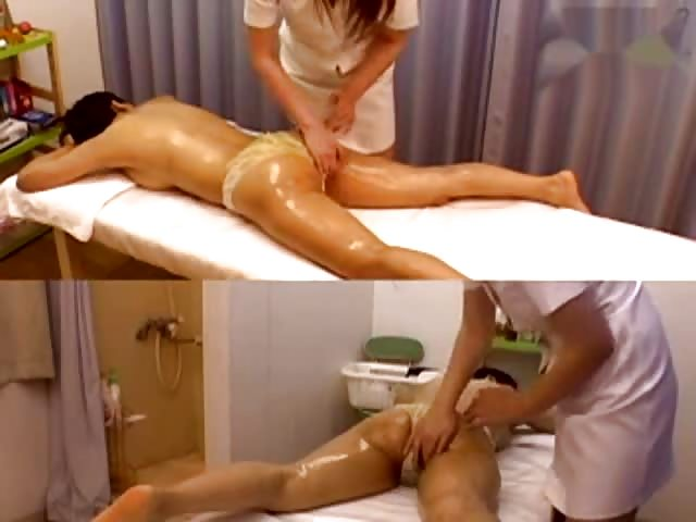 Female Asian oil massage with very happy ending