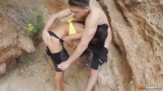 Hot fuck on the beach
