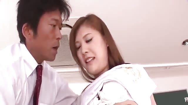 Japanese schoolgirl tortured in her sweet juicy cunt