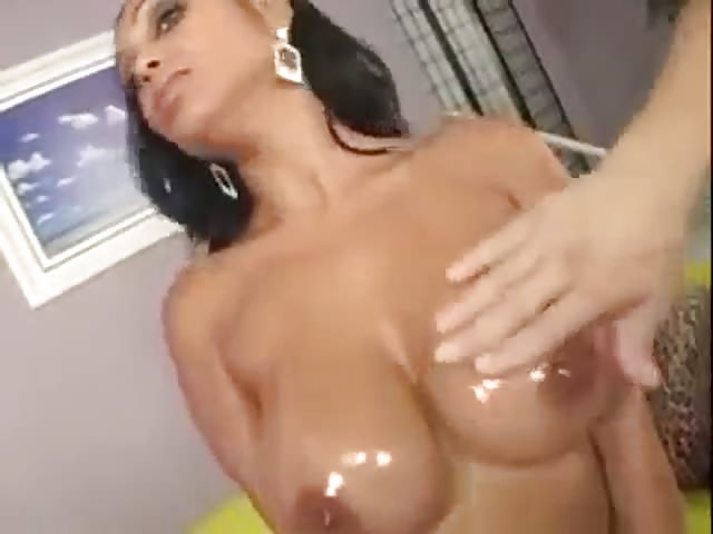 big boobs oil