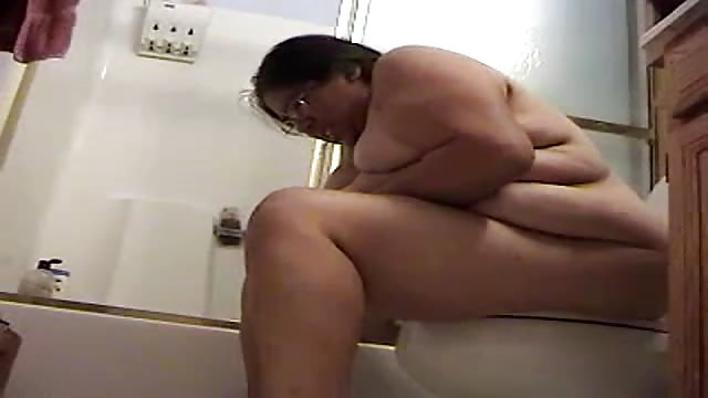 BBW Poop porno