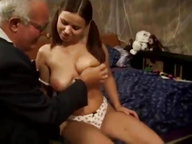Old Man Fucks A Teen Hottie