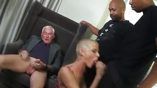 Wife has new sex with man video