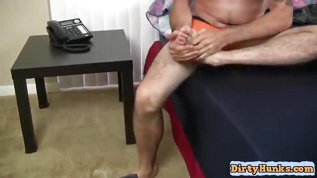 Big cock solo masturbation