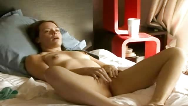 Fingering herself to orgasm with