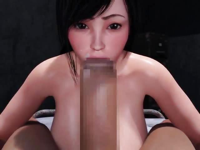 Cum filled 3D fantasy