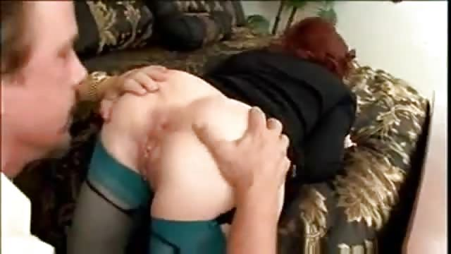 Redhead fucked in ass something also