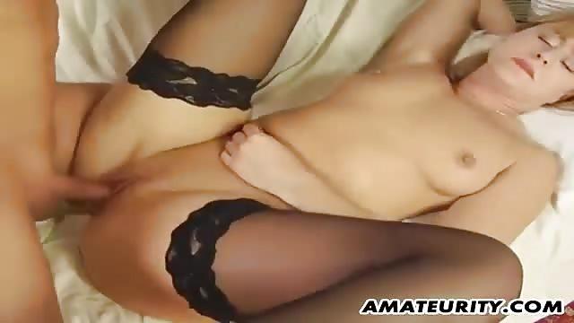 Scharfer Blonder Pornostar