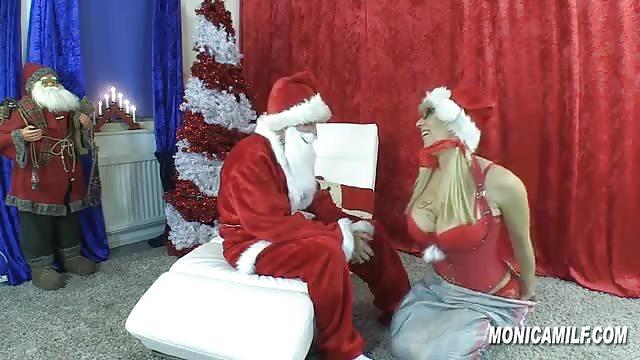Teen fucktube Very Hot Girl Banged By Santa
